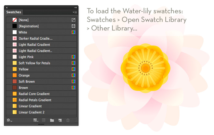 How_to_create_a_water_lily_in_Adobe_Illustrator_2