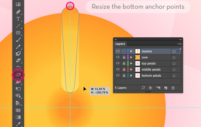 How_to_create_a_water_lily_in_Adobe_Illustrator_22