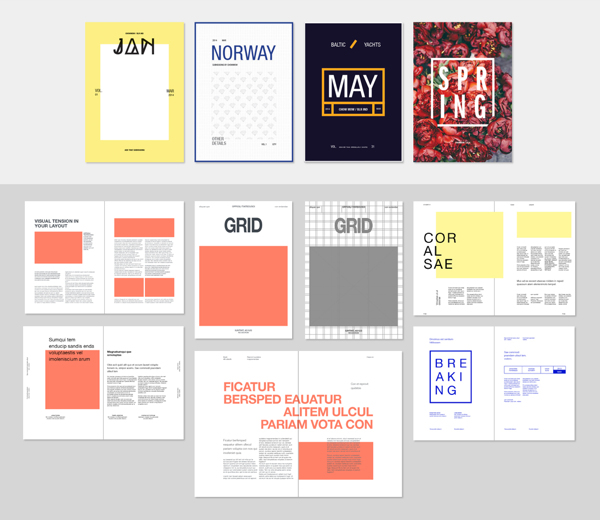 5 creative resumes indesign templates indd + psd 300 dpi cmyk 5 models 1218 mb