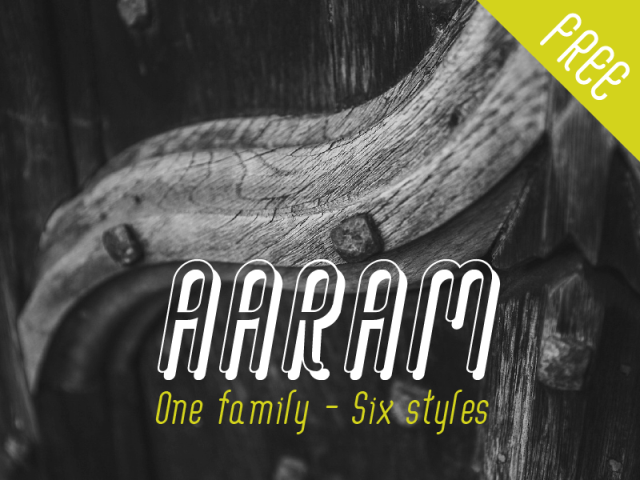aaram-free-font-by-tharique-azeez