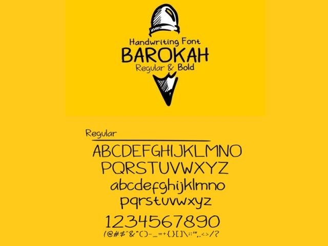 barokah-font-by-ahmed