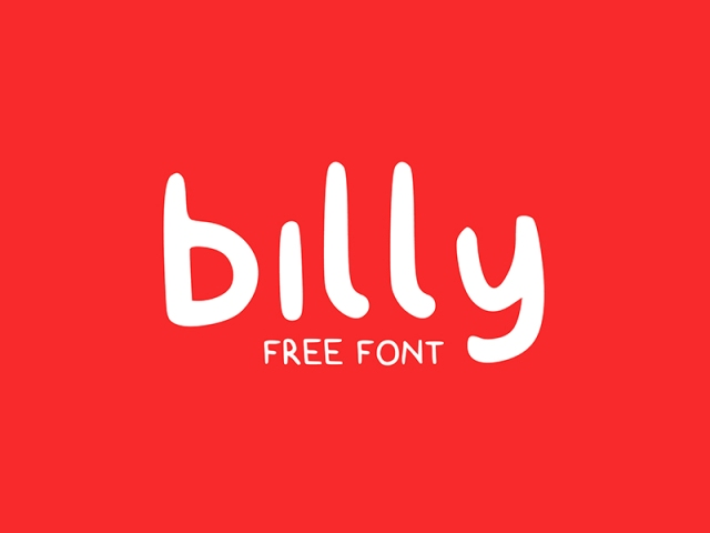 billy-free-typeface-by-claire-follow