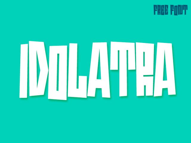 idolatra-font-by-felipe