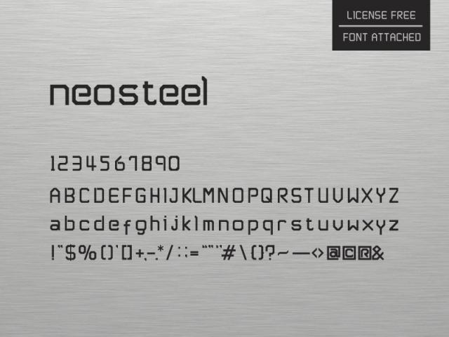 neosteel-modern-font-by-sam
