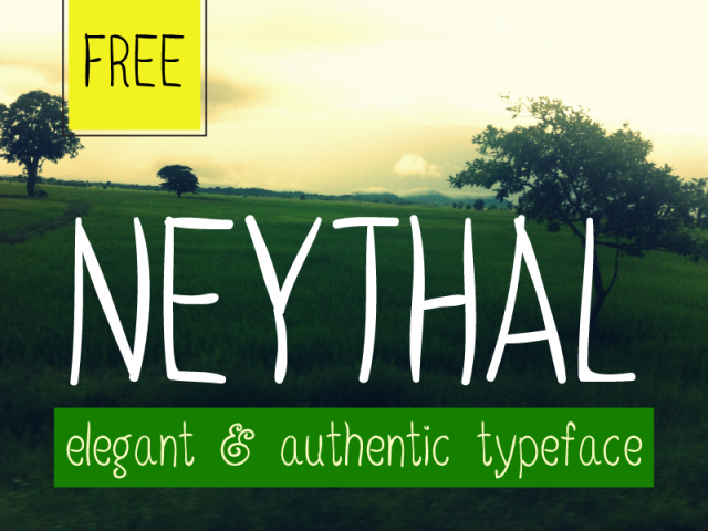 neythal-free-font-by-tharique-azeez