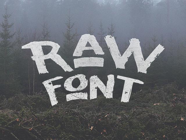 raw-font-by-noe-araujo