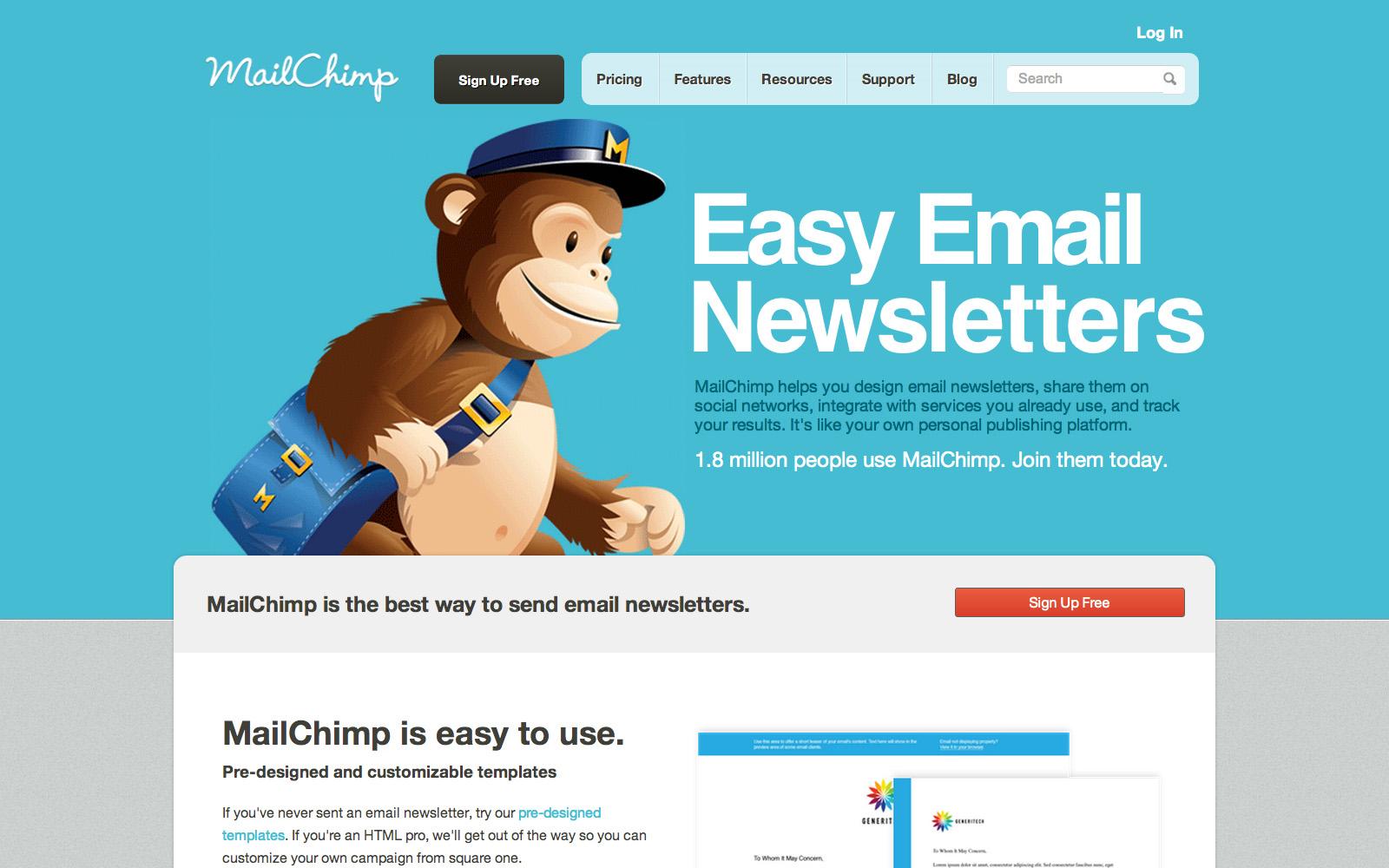 Как сделать рассылку по mailchimp
