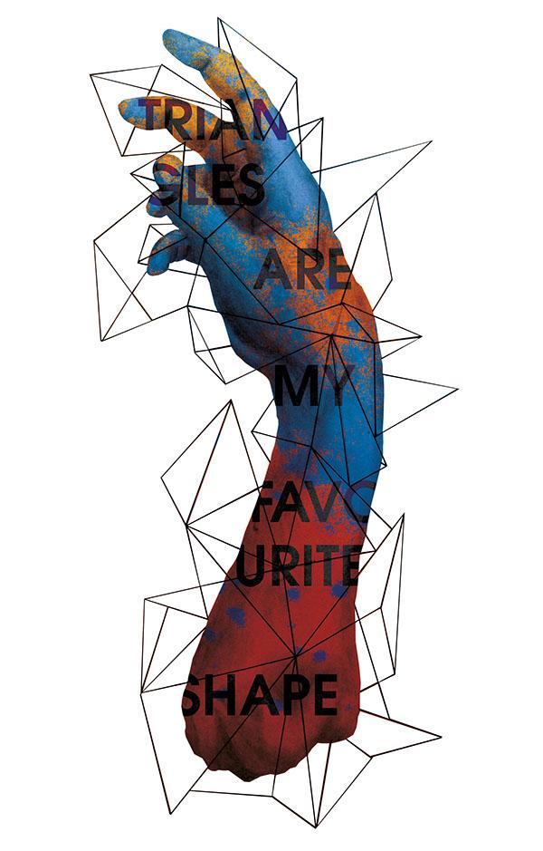 trends-2015-polygonal-graphics-Poster - Polygon Hand