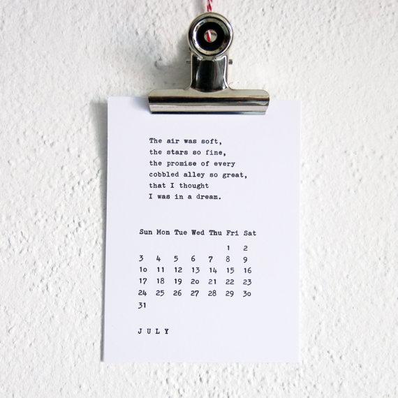 creative calendars 2016 - 10