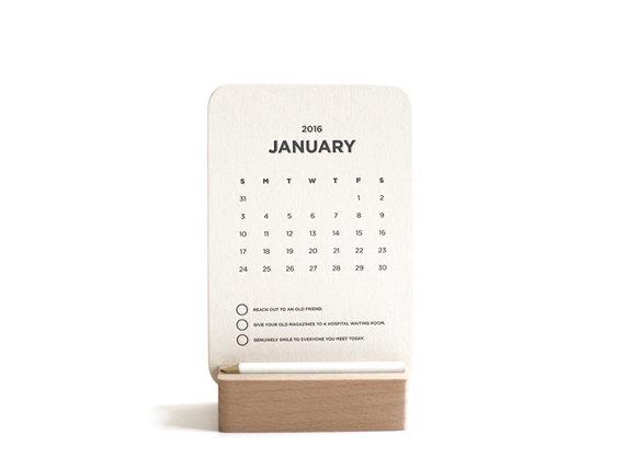 creative calendars 2016 - 14