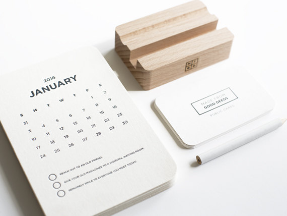 Creative Desk Calendar Ideas : Creative calendars