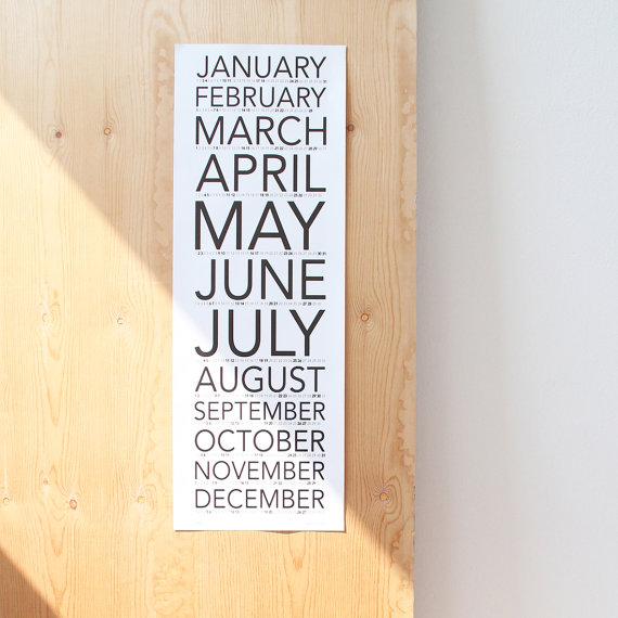 creative calendars 2016 - 2