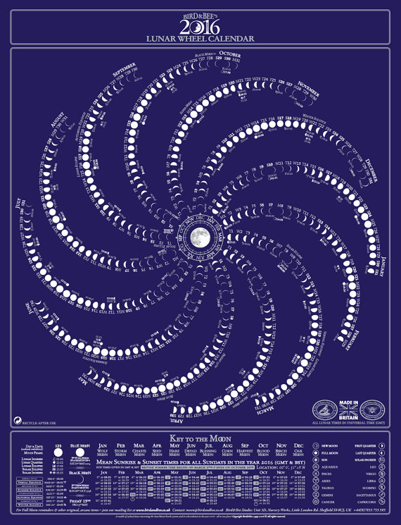 creative calendars 2016 - 28