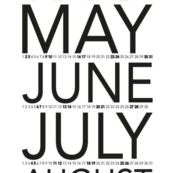 creative calendars 2016 - 3