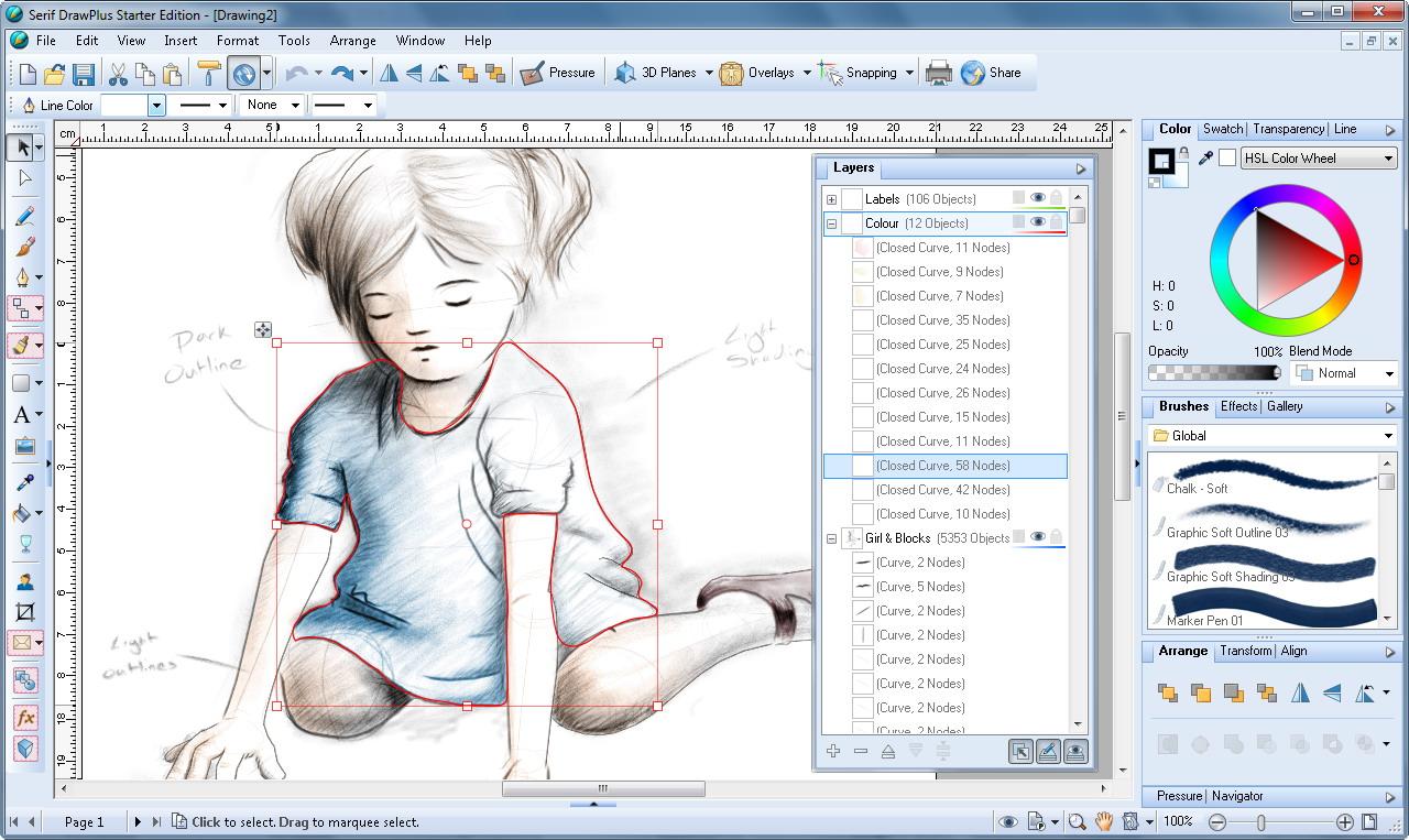 Прога для работы с рисунком