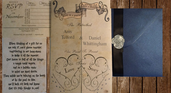 unique wedding invitations -10