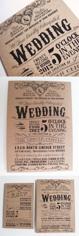 unique wedding invitations -17
