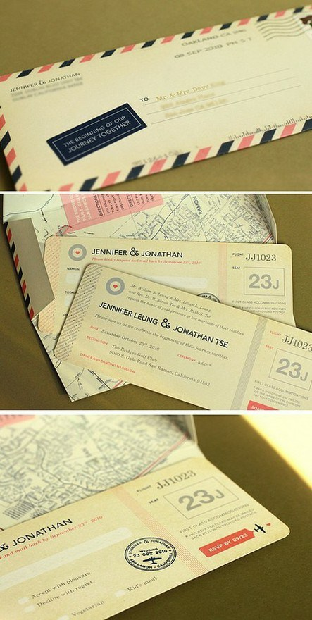 unique wedding invitations -6