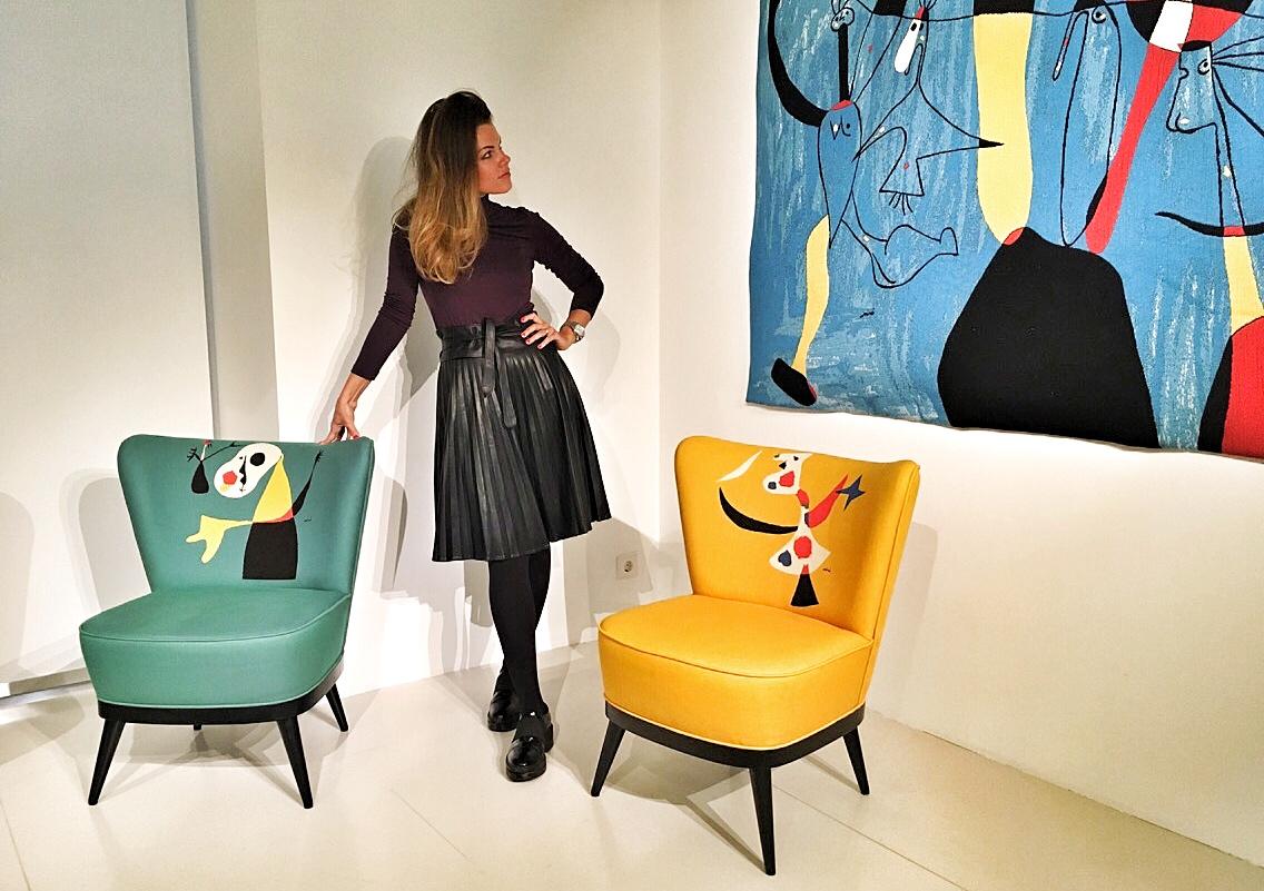 Кресла Miro, созданные французской мануфактурой Jules Pansu