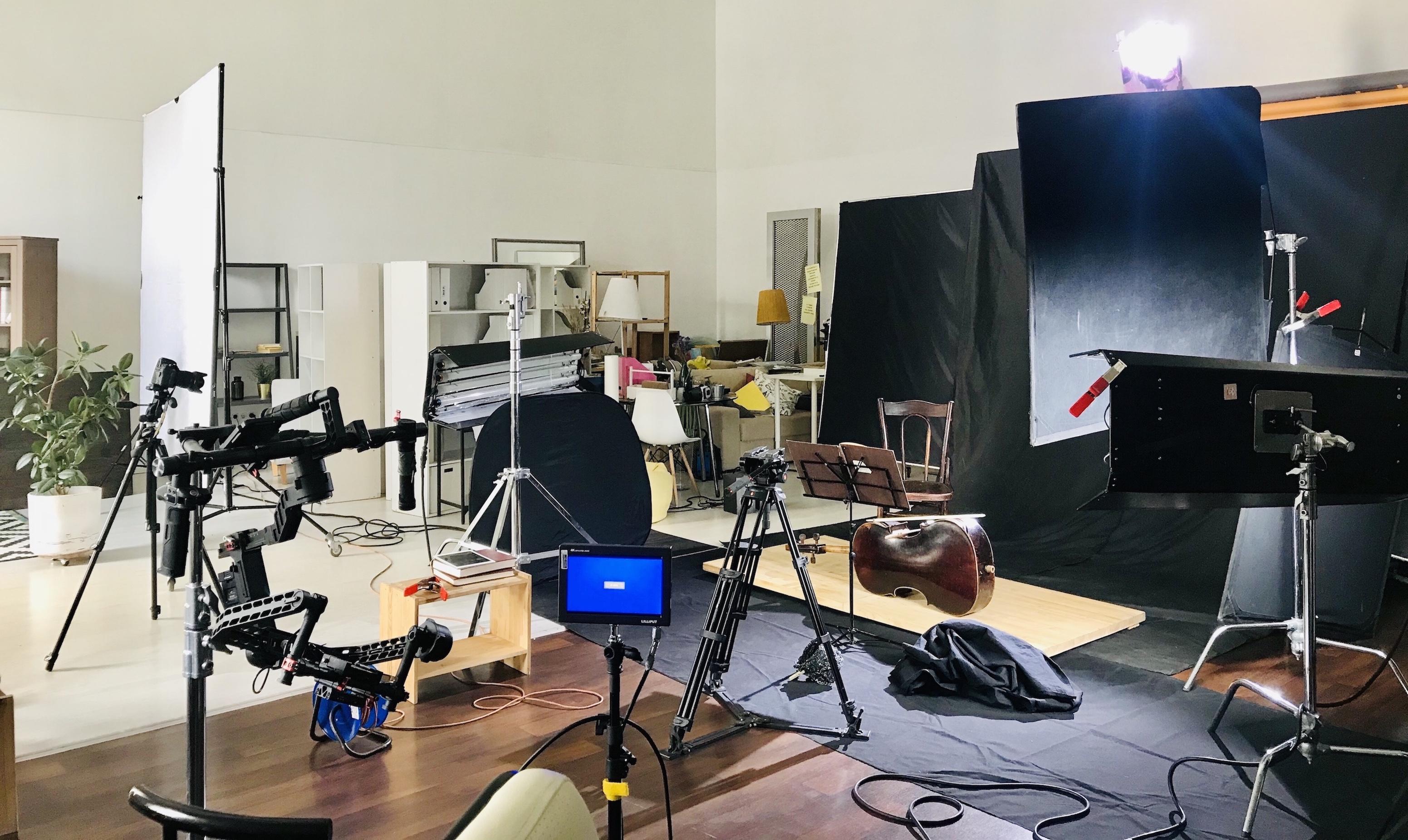 Бэкстейдж со съемки Everypixel Studio